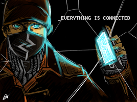 Aiden Pearce / Watch Dogs by Noar03