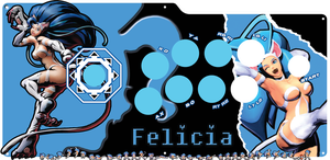 Felicia Fightstick by DB-Kai