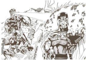 Jim Lee Bogart Part 2 XMen 1 by JamesLeeStone