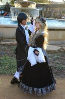Victorique and Ciel Cosplay by DollieDearestCosplay