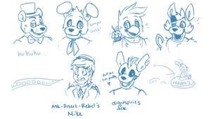 FNaF mini-stream results by PastaIsALie