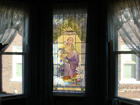 Saint Francis of Assisi installed by artmovementspgh