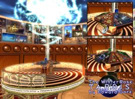 My Tardis in Second Life 2011 by WinterRoseASFR