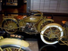 1920 Harley Davidson Opposed 2 Cylinder   right by Caveman1a