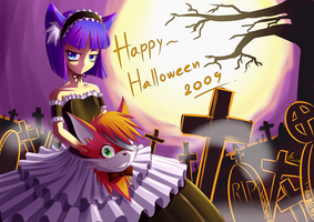 Happy halloween 2009 by Puretails