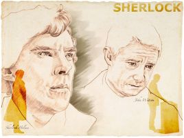 Sherlock and John3 by 403shiomi