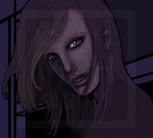 Thief in the Night - WIP by Asteyni