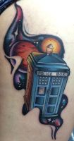 Doctor Who's T.A.R.D.I.S. by someoneREVIVEme