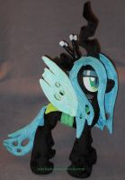 QUEEN CHRYSALIS plushie by calusariAC