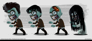 Zombies Design by pencilmyfriend