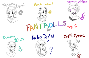 Fantroll Sketches pt. 2 by Camsee-Mystery