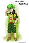 Pokemon Trainer Xertal by Phyllocactus