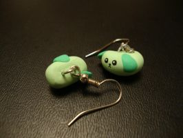 Mameshiba Earrings by Menouthys