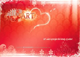 MY LOVE FOR THE ART by hasanaliakhtar