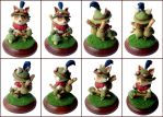 Teemo Sculpture Alternate Views by LeiliaClay