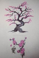 Cherry Tree by daughter-of--wolves