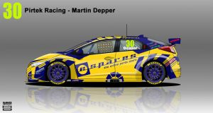 Pirtek Racing Honda Civic BTCC 2014 - #30 by hanmer