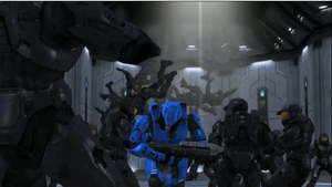 RvB Charging Caboose by Dustiniz117