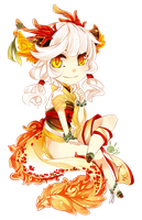 [RECYCLE ADOPT - SET PRICE] chinese dragon! OPEN by mintbuns