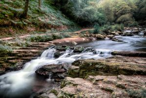 Watersmeet river by CharmingPhotography