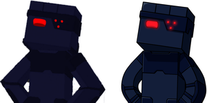 Old and new comparison: Minecraft Rox by CyborgROX