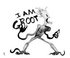 I am Groot by therealantboy