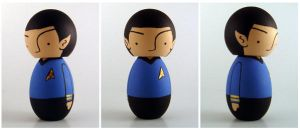 Spock Ornament by renton1313