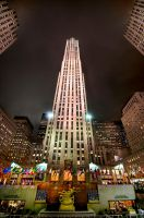 rockefeller center by greycamera