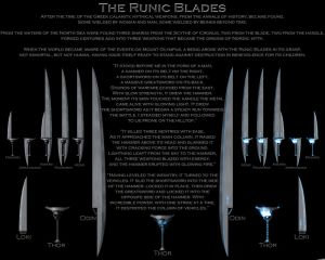 The Runic Blades