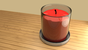 [WIP- 3D] Candle by LanceTheTurtle