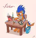 Happy Birthday to Fisher by DocWario