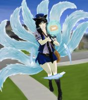 Mail Carrier Ahri by Archtemplar
