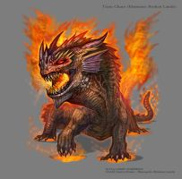 Fire Dragon Boss by MIKECORRIERO