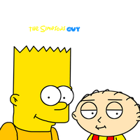 Bart Simpson and Stewie Griffin together by ElMarcosLuckydel96