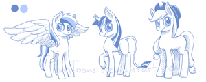 New pony concepts by TariToons