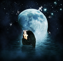 In the Moonlight by Shadowed-Midnight