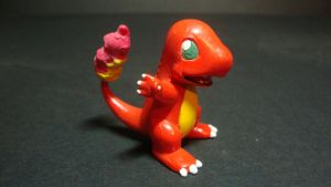 Pokemon - Charmander figure by stopmotionOSkun