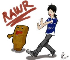 me and domo kun by IbeTROLLIN