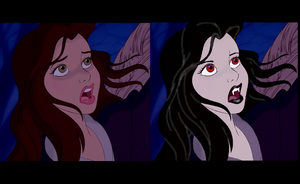 Vampire Disney Belle by NuclearOver