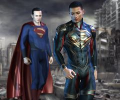 Men of Steel by shaft73