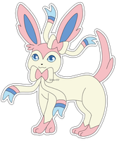 Eeveelution: Sylveon by izka-197