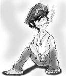 Murdoc and His Hat by madamenanas