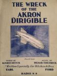 The Wreck Of The Akron Dirigible by peterpulp