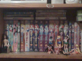 my sailor moon collection by kazza234