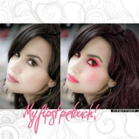 First retouch: demi's make-up by letsplayyourlovegame