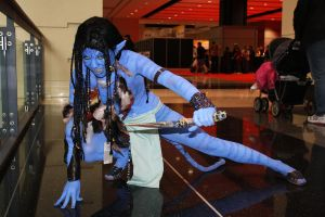 Neytiri Cosplay at C2E2 by UndercoverEnvy
