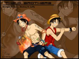 One Piece: +The D. Brothers+ by Harumi-Chan