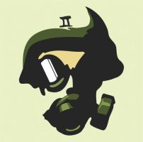 Gas Mask by Bolarg