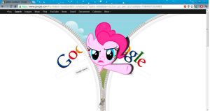 Pinkie in google by KennyKlent