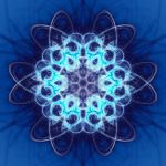Indigo Mandala by SteveAllred